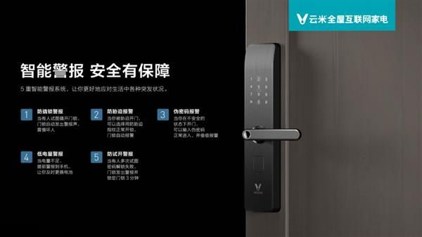 Yunmi Interconnected Smart Door