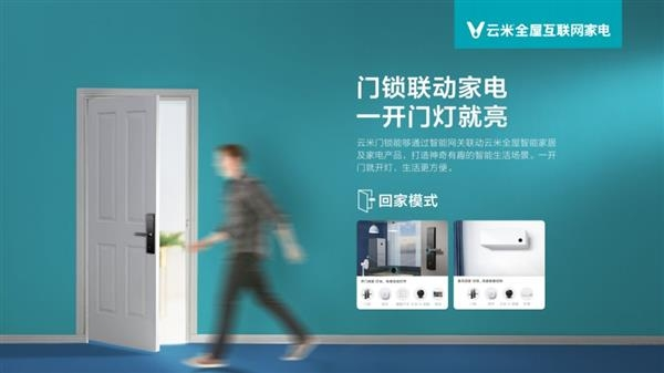 дверной замок Yunmi Interconnected Smart Door